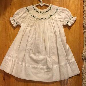 Strasburg 3m Smocked Christmas Dress